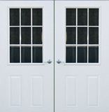 Doors if your needs are for a house a commercial for Double porte
